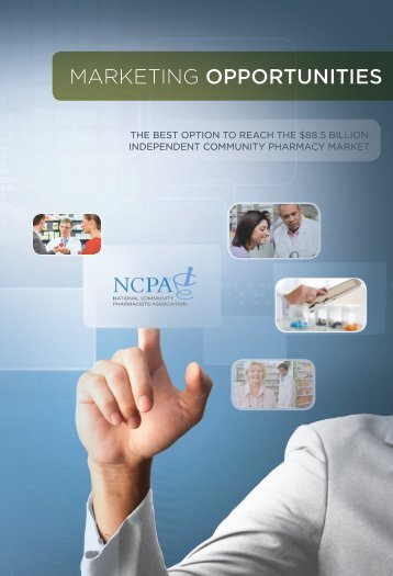 NCPA Marketing Opportunities - National Community Pharmacists ...
