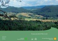 Tourismusleitbild Pfälzerwald - Naturpark Pfälzerwald