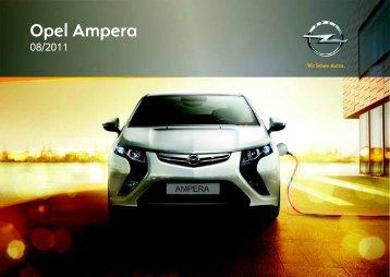Opel Ampera 2012 – Instrukcja obsługi – Opel Polska