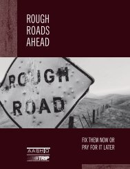 Rough Roads Ahead: Saving the Nations Highways