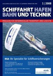 SUT_012008_Ausgabe_S.. - 1 | 2008 - Schiffahrt und Technik