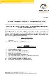 Disputes Resolution rules - nbcrfli.org.za