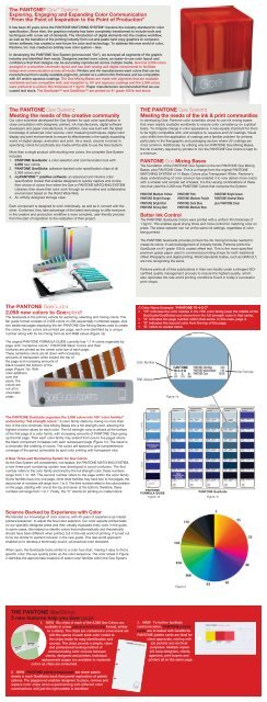 The PANTONE Goe System: Meeting the needs of the creative ... - Ipex