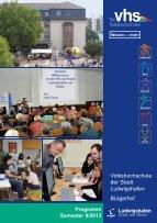Semester II/2013 - Volkshochschule