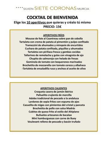 Diseño Menús (pdf) - Hoteles Silken
