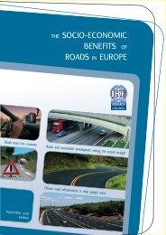 THE SOCIO-ECONOMIC BENEFITS OF ROADS IN EUROPE