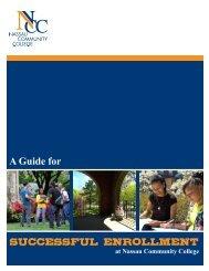 Guide for Successful Enrollment - Nassau Community College