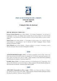 Catégorie thèses de Doctorat - IHEDN