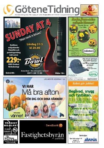 Vecka 12 - Götene Tidning