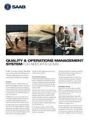 QOMS product sheet (pdf) - Saab