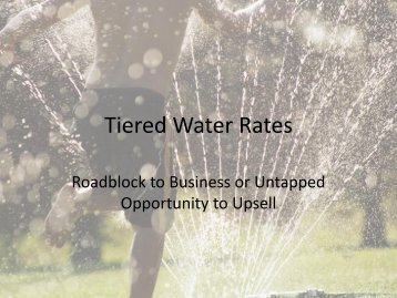Tiered Water Rates