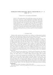 A curvature theory for discrete surfaces based on mesh