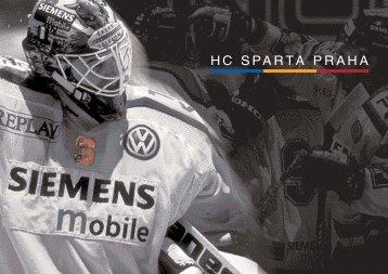 Sponzorsk. nab.dka bez cen - HC Sparta Praha