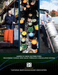 america's beer distributors: delivering choice and value through a ...