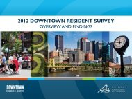 2012 Downtown Resident Complete Survey Results - The Pittsburgh ...