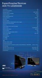 EO-0377-12 Especificações serie_LED3330_32.indd - AOC