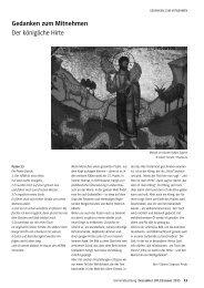 GEMEINDEzeitung der Martin Luther Gemeinde, Dezember 2012