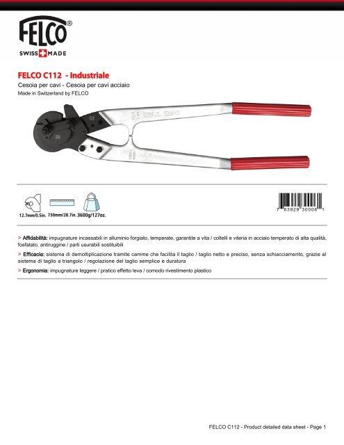 FELCO C112 - Industriale