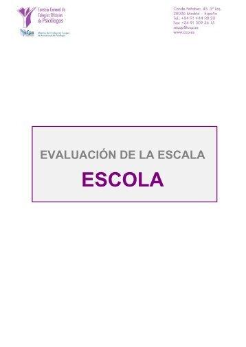 CUESTIONARIO PARA LA EVALUACION DE LOS TESTS - Consejo ...