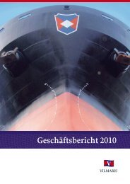 Geschäftsbericht 2010 - Vilmaris
