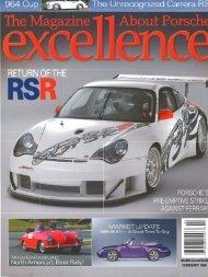 February 2004 - 1992 Porsche Carrera Cup USA Registy
