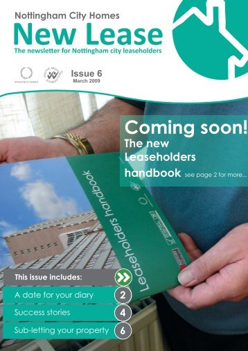 New Lease issue 6.indd - Nottingham City Homes