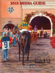 Media Guide Covers - Del Mar Thoroughbred Club