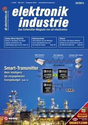 PDF-Ausgabe herunterladen (29.6 MB) - elektronik industrie