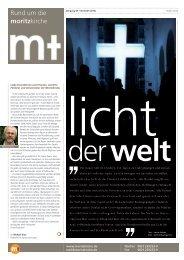 Bauzeitung Nr. 6 - Moritzkirche