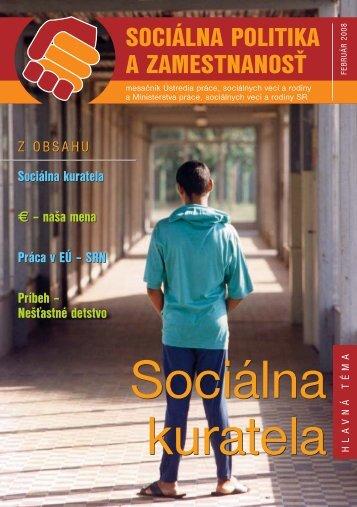Február 2008 - Ústredie práce, sociálnych vecí a rodiny