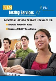 PN Solutions by NLN Testing Services - National League for Nursing