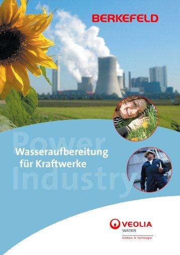 Wasseraufbereitung für Kraftwerke - Berkefeld