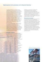 Optimización procesos Industria Química - Messer