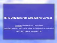 ISPD-2012 contest presentation with results
