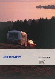 Caravans 2004 - Hymer Klub Danmark
