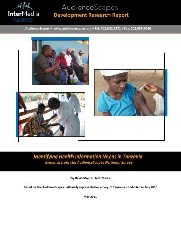 Identifying Health Information Needs in Tanzania - AudienceScapes