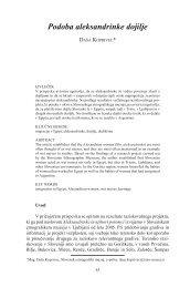 HS 9 - Daša Koprivec: Podoba aleksandrinke dojilje