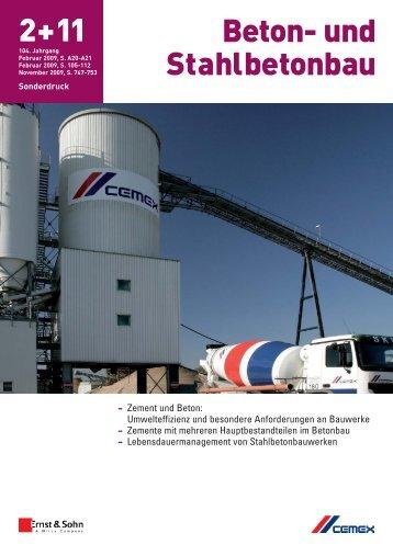 pdf zum Downloaden (1,25 MB) - Cemex Deutschland AG