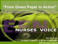"""CNO Meeting – """"Workforce"""" - EFN – European Federation of Nurses ..."""