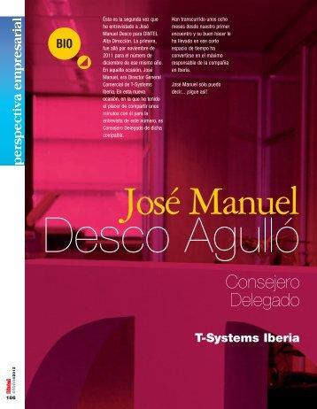 D. José Manuel Desco - Revista DINTEL Alta Dirección
