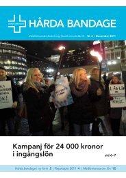 Harda bandage nr4 2011 - Vårdförbundet