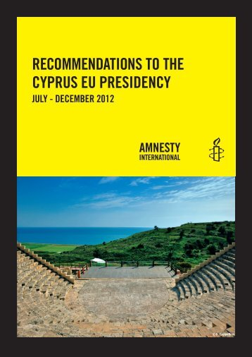recommendations to the cyprus eu presidency - End FGM