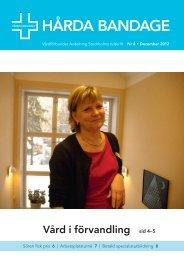 Hårda Bandage 2012 nr 4 - Vårdförbundet