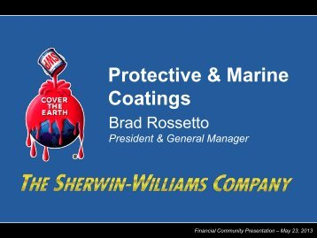 Protective & Marine Coatings