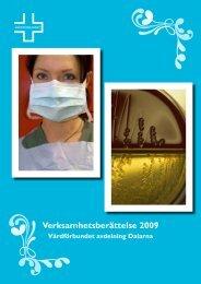 Verksamhetsberättelse 2009 - Vårdförbundet