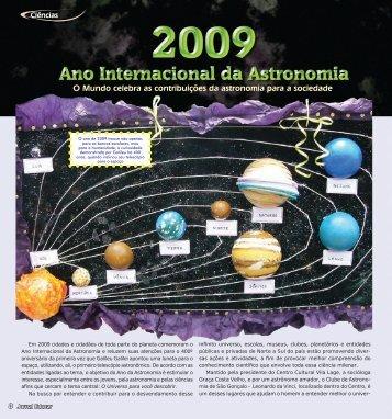 O Mundo celebra as contribuições da astronomia para a ... - Appai