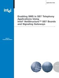 Enabling SMS in SS7 Telephony Applications Using ... - CompTek