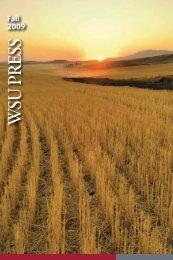 Fall 2009 - WSU Press - Washington State University