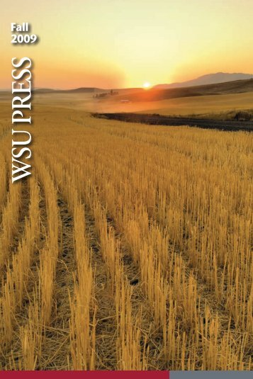 Fall 2009 - WSU Press - Washington State University
