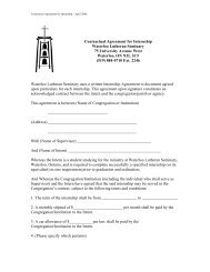 Internship agreement for student civil servants